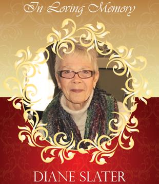 In loving memory - Diane Slater