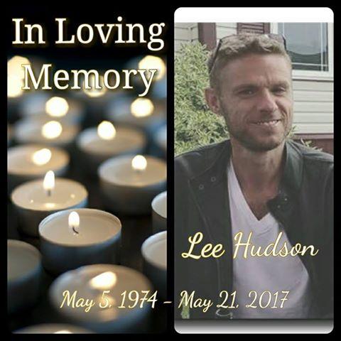 Lee Hudson - RIP
