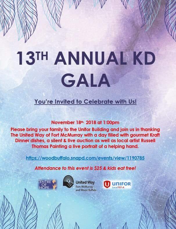 13 Annual KD Gala - Nov 18 2018