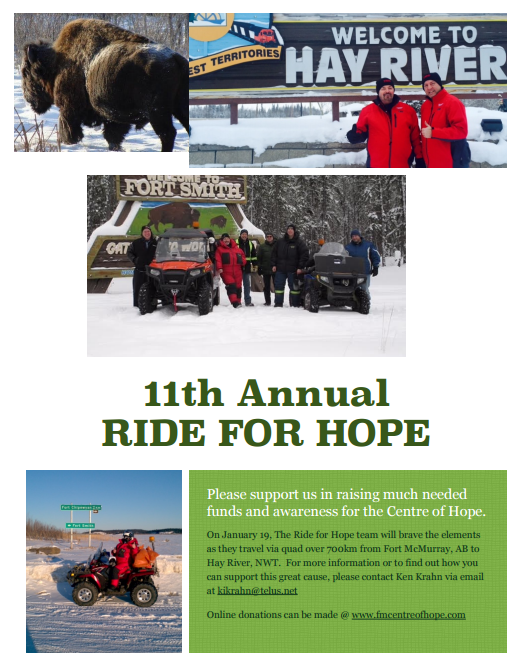 ride for hope poster